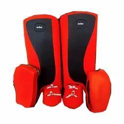 Asko Red, Black Hockey Leg Guard