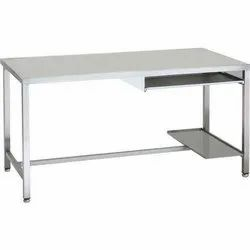 Rectangular Mild Steel Office Table for Corporate Office