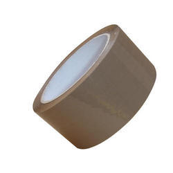 Transparent And Brown Plain Brown BOPP Tape, Packaging Type: Box
