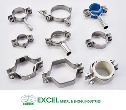 Stainless Steel Pipe Support Clamp