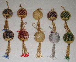 Zari Christmas Hanging Balls