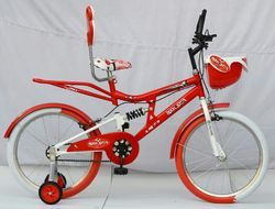 Rockstar 20 Red Kids Bicycle