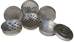 Circular Stainless Steel Test Sieves G.I 12 DIA OPTICA, Model Number: 23, Capacity: Standard