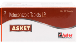 Ketoconazole 200 mg Tablet (Asket)