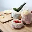 Cotton Mesh Reusable Produce Grocery Bags