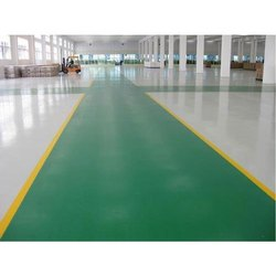 Coloured Epoxy Screed