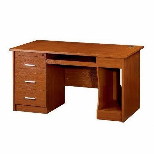Rectangular Wooden Office Table Size Feet Feet Rs - 4 feet office table