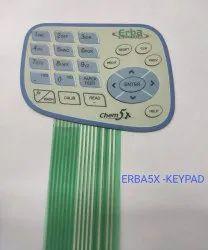 Erba Chem 5x- Keypad