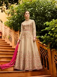 PR Fashion Launched Elegant Looking Designer Floor Length Suit
