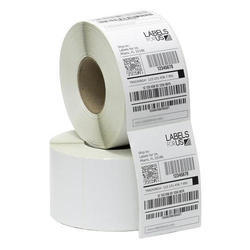 White Thermal Label Stickers