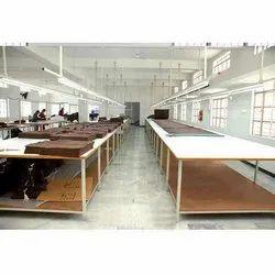 Rectangular White Checking Table, For In Hosiery