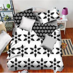 White Comforter 6 Pcs Sets