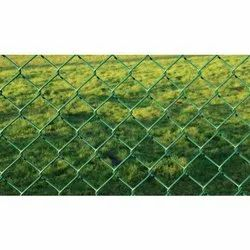 PVC Coated Chain Link Mesh Fence, for Fencing