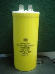 60 MFD / 450 VAC, 85''C  ( ELECT )  MPPRC/SO2,  70x40mm, 60/450AC Capacitor CTR