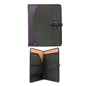 Black And Purple Mens Wallets