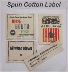 Spun Cotton Label