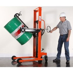 Drum Tilting Machine for Lifting, Shifting