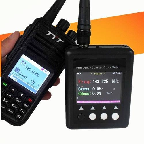 Portable Frequency Counter Meter Scanner Ctcss/dcs Decoder Dmr