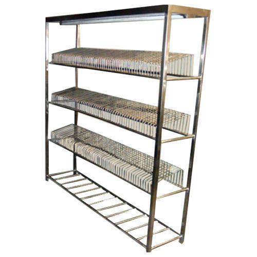 SS Plate Storage Rack  sc 1 st  IndiaMART & Ss Plate Storage Rack at Rs 6000 /piece | Stainless Steel Dish Racks ...