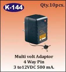 K-144 Multi Volt Adaptor