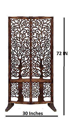 Shilpi Wood Screen Single Panel Room