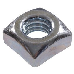 Goodgood Manufacturers Polished Square Nut, Grade: Ss 306, Size: 5-9 Inch