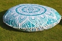 Flower Ombre Round Cushion