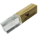 Wooden Crystal Pen Drive