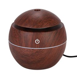 Mini Portable Wood Aromatherapy Humidifier