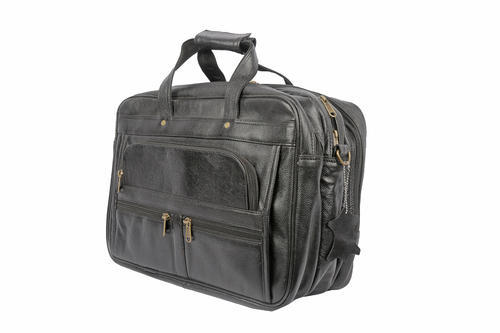 df68b7a2000b Genuine Leather 15.6 Inches Laptop Messenger Bag, Crossbody Travel Bag, 3  Compartment Office Bag