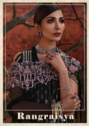 19361ee075 Al-Safa Cotton Self Embroidery Pakistani Suits, Rs 899 /piece | ID ...