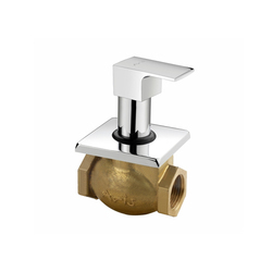 Flush Cock With Adjustable Wall Flange