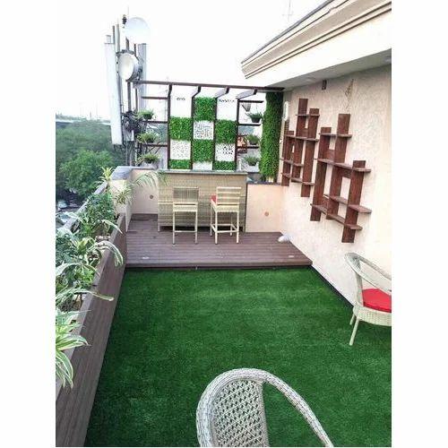 Pvc Green Grass Carpet For Balcony Rs 50 Square Feet Galaxy
