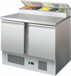 Stainless Steel Under-counter Refrigeration, 2.55 Kwh/24hr