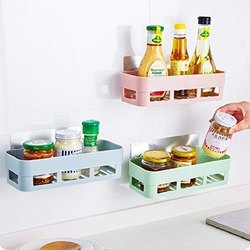 Maitri Plastic Rectangle Shelf, Size: Medium