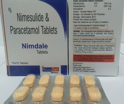 Nimesulide 100mg Paracetamol 325 Mg