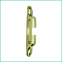 Fairlead 7 Straight Lipped Side (brass)