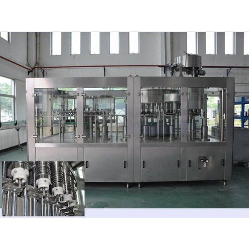 Stainless Steel Rinsing Filling Capping Machine, Capacity: 1000 BPM, 15 kW