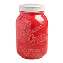 Red Ceramic Jar, For Interior Decor And Promotional Use