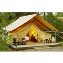 Beach Camp Tent on Wood Pole