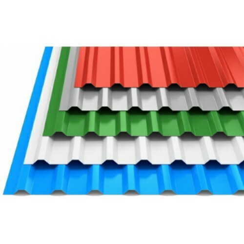 0 50mm Oralium Aluminum Roofing Sheet Thickness Of Sheet 0 50 Mm Rs 48 Square Feet Id 18922139033