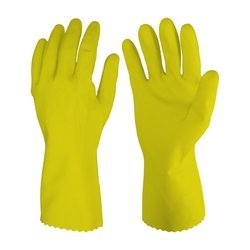 Multicolor Latex Rubber Hand Gloves