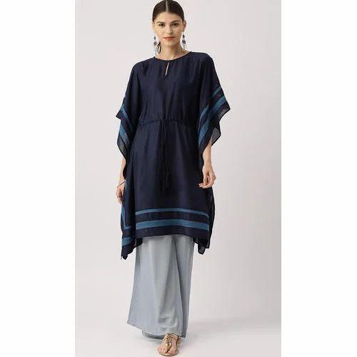 452bcf992 S To XXL Plain Ladies Kaftan Cotton Kurti, Rs 459 /piece | ID ...