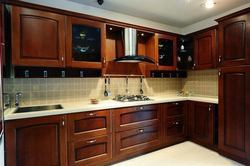 Wooden Laminate Modular Kitchen, in India, Warranty: 10-15 Years
