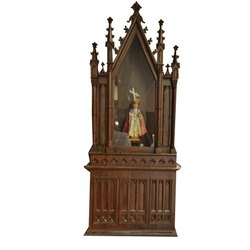 Wooden And Fiber Church Altars