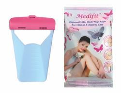 Medifit Disposable Ladies Skin Razor - Single Pouch Pack