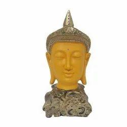 Yellow Gautam Buddha Statue