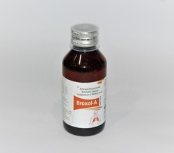 Ambroxol hydrochloride, Terbutaline sulphate,Guaiphenesin  with menthol Cough syrup