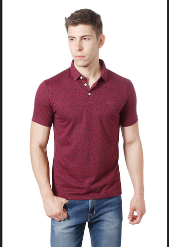b846b87548c Small Peter England Maroon T Shirt