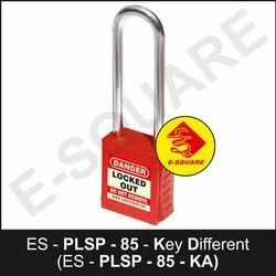 Premier Lockout Safety Padlock With 85mm Metallic Shackle